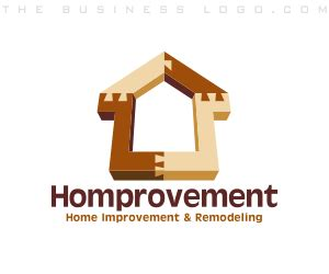 home improvement remodeling and household logos