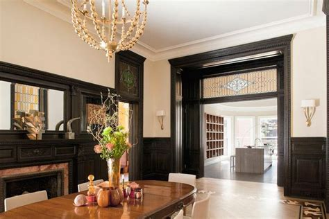 Dining Paint Colors Dark Wood Trim For Top Dark Stained