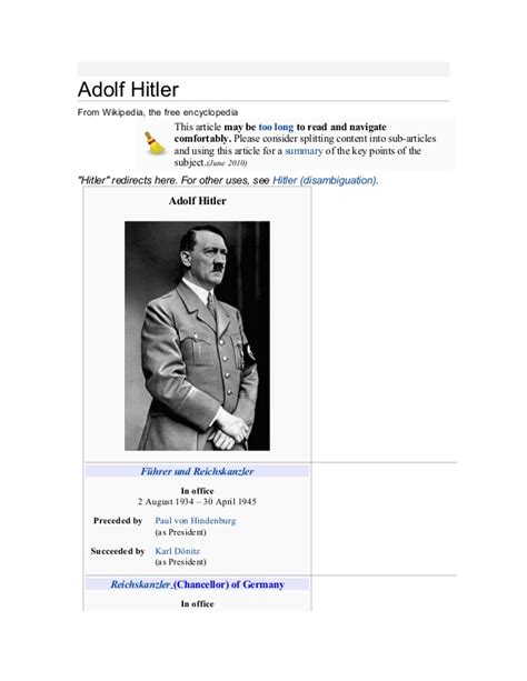adolf hitler biography free ebook adolf hitler ebook