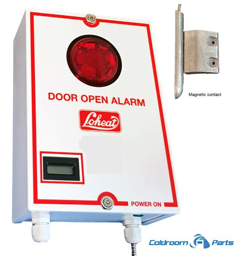 loheat door left open alarm coldroom parts