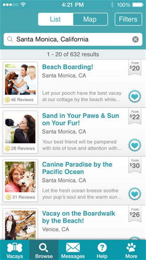 vacay reviews 5 sitter finder apps for iphone iphoneness