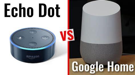google home vs amazon echo dot side by side comparison youtube echo dot 2nd gen vs google home rizknows