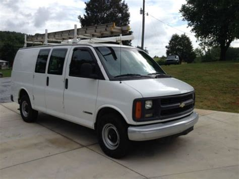 how to work on cars 1997 chevrolet express 2500 free book repair manuals purchase used 1997 chevrolet express 2500 base extended cargo work van 3 door 5 7l in lenoir
