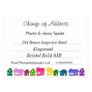 Change Of Address Postcard Template by Change Of Address Postcards Change Of Address Post Card