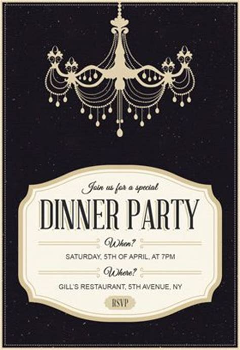 25 best ideas about dinner party invitations on pinterest