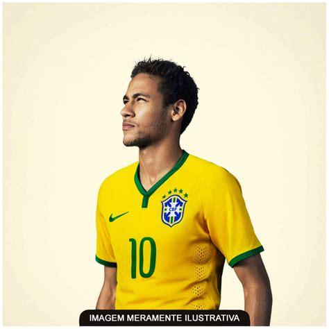 camisa do brasil amarela nike jogador 2014 s n 176 masculina