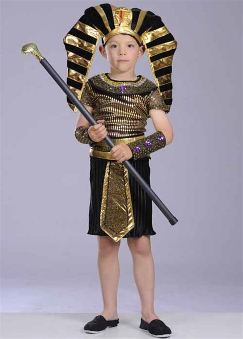 ancient costume theme diy olive black pharaoh costume