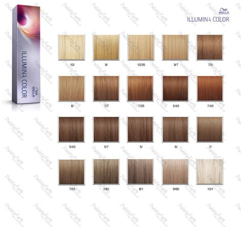 illumina wella corrector makeup illumina color shades