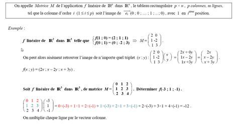 Ts M Cs 15 Calcul Matriciel Produit De Matrices Reorder Email Template