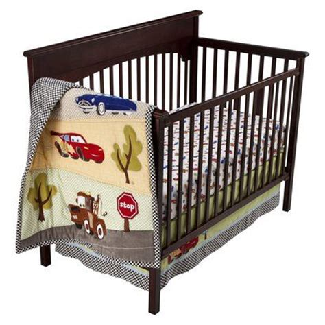 Car Cribs by Disney Cars Junior Junction Fast Friends 4pc Crib Set