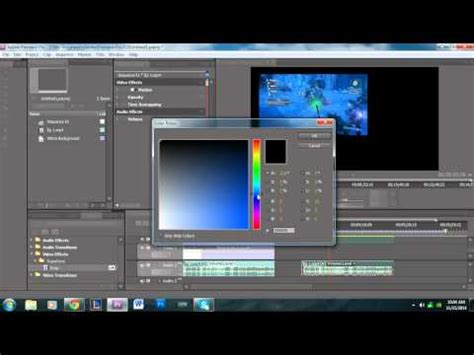 adobe premiere pro black and white how to apply a background to a video in adobe premiere pro