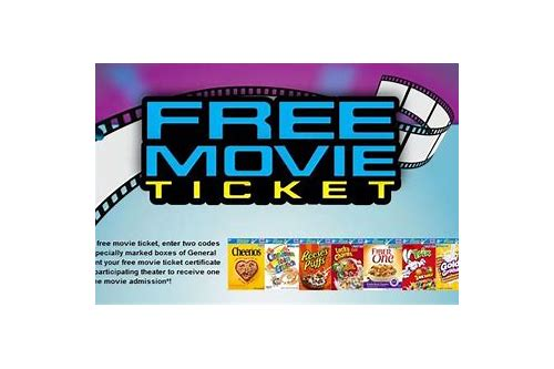 free coupons movies ticket