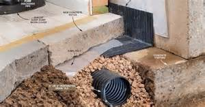 what to do if your foundation cracks interior drain tile foundation repair etc decks