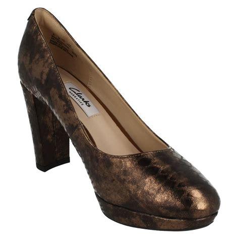 clarks shoes high heels clarks high heel smart slip on shoes kendra