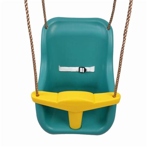 outdoor baby swing seat toddler coaster swing baby plastic secure high back swing