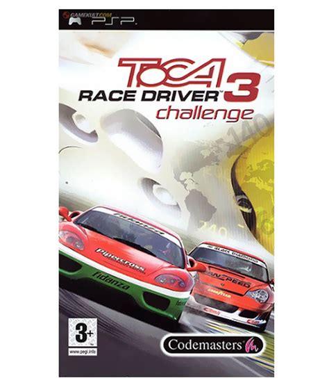 driver challenge buy toca race driver 3 challenge psp psp at