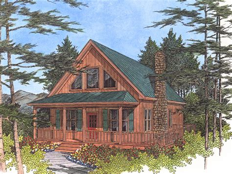 Cabin Houseplans lake cabin cottage plans small cabin house plans lake