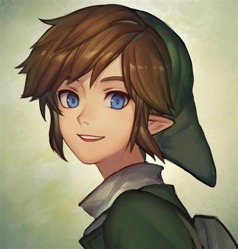 zelda link with black hair safebooru blonde hair blue eyes hat link mimme haenakk7