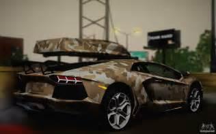 Camo Lamborghini Lamborghini Aventador Lp 700 4 Camouflage For Gta San Andreas