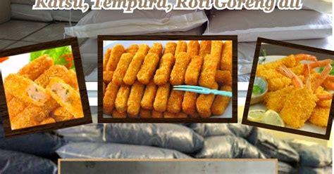 Tepung Panko Bread Crumbs distributor trading dan importir bread crumb tepung