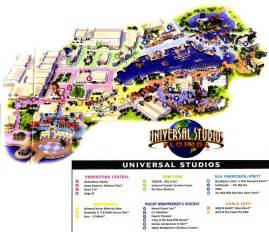 Universal Studios Orlando Maps by Theme Park Page Park Map Archive