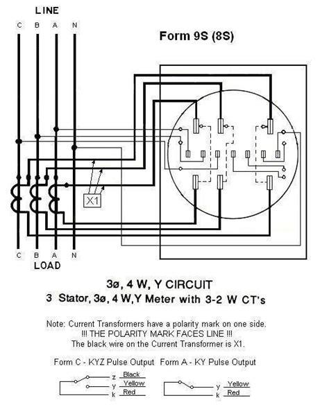 form 35s meter wiring diagram 12s meter diagrams wiring