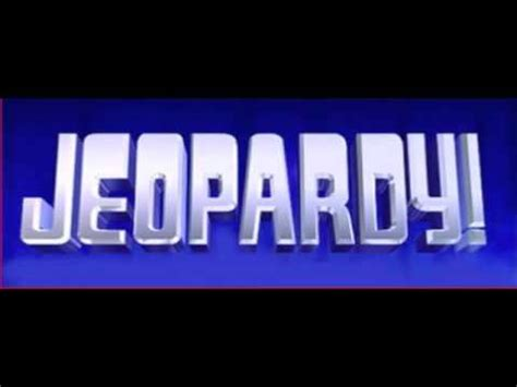 jeopardy theme music youtube jeopardy theme music 15 seconds youtube
