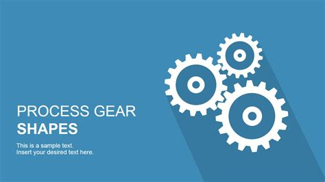 process gear shapes for powerpoint slidemodel
