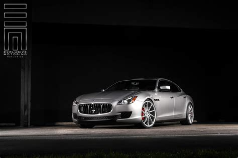 2015 maserati quattroporte custom gray metallic maserati quattroporte s q4 shows off custom