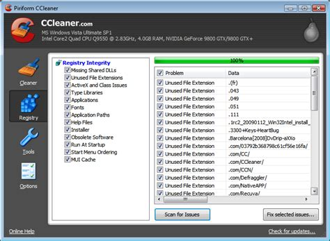 ccleaner xp 32 ccleaner version 2 32 1165 fordisand