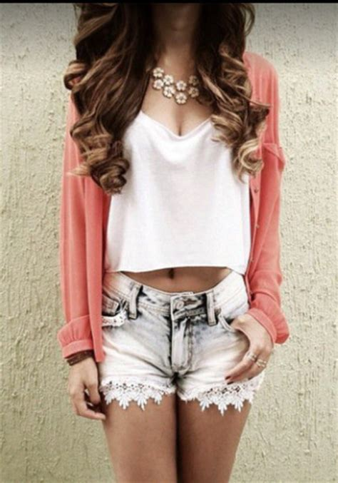 jewels flowers flowers vintage girly swag swag swag top pink top white top jeans