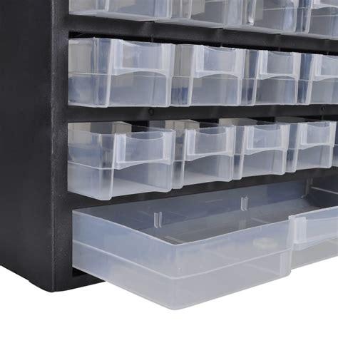 drawer plastic storage cabinet tool box vidaxlcomau