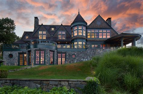 $22 Million Waterfront Shingle Mansion In Rye, NY   Homes