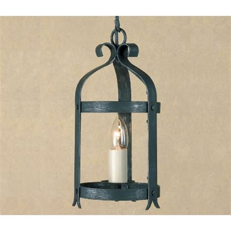 wrought iron foyer light small black wrought iron hall lantern medieval style with