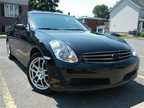 2006 black infiniti fs canada 2006 infiniti g35 sedan black on black