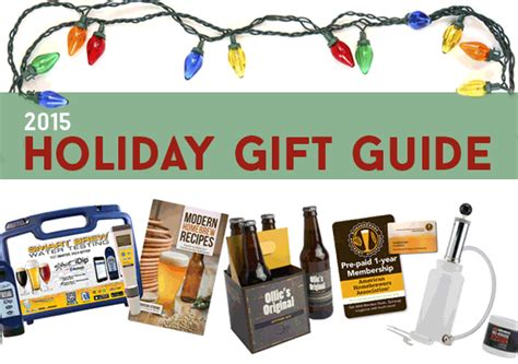 homebrew holiday gift guide american homebrewers association