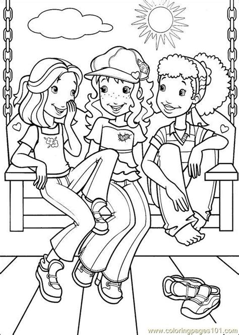 coloring pages holly hobbie 20 cartoons gt holly hobbie