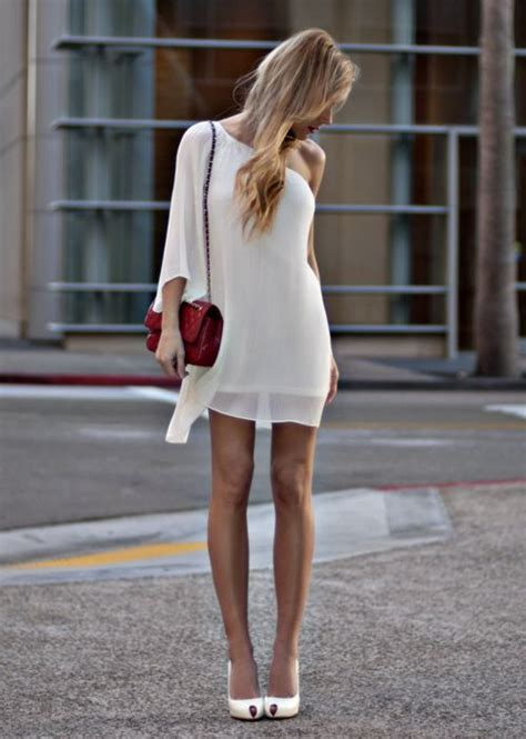 your gallery white dress bag white shoes