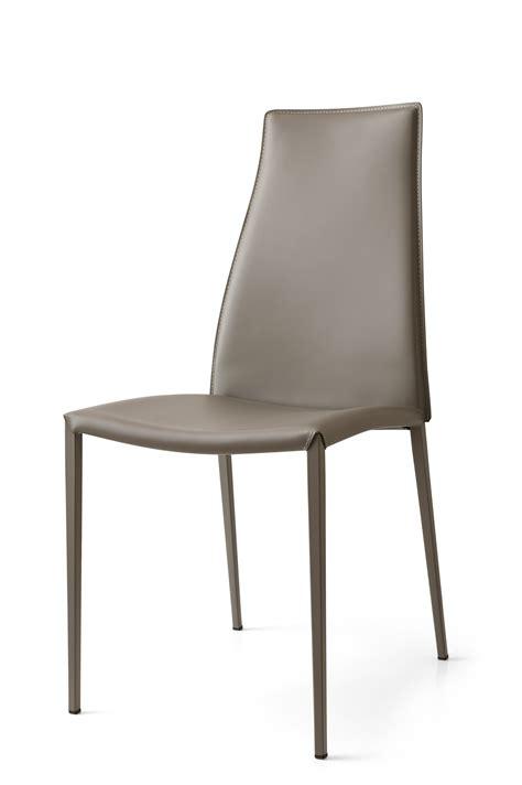 sedie in cuoio calligaris aida sedia in cuoio rigenerato by calligaris design studio 28