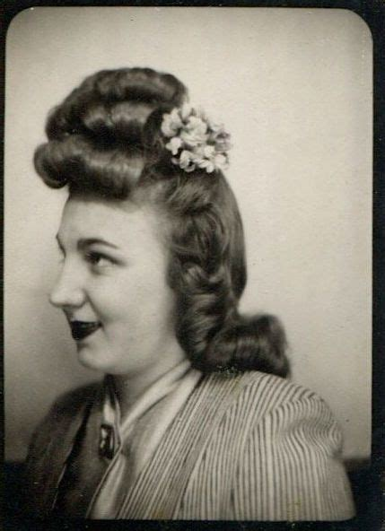 hair style photo booth 1940s 1940s hair and photo booths on pinterest