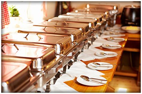 office dinner buffet catering cuisiniers corporate buffet dinner