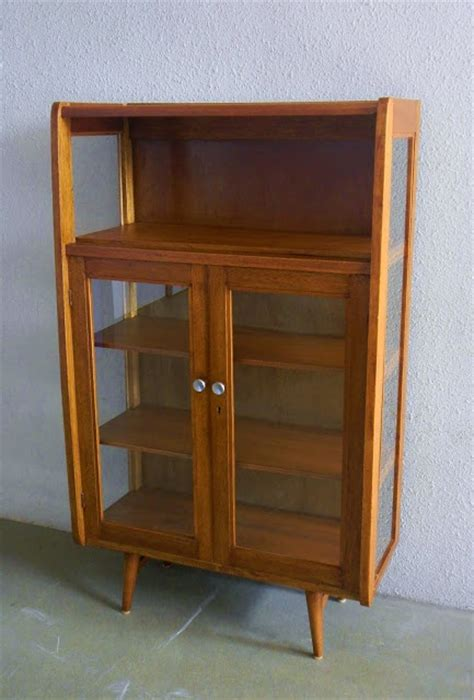 1960s China Cabinet 1960s Glass Sided China Cabinet Furniture Ls