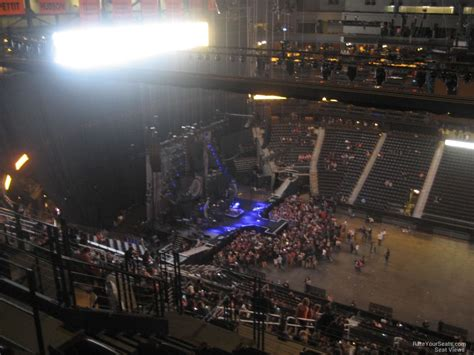 best seats in philips arena for a concert philips arena section 410 concert seating rateyourseats
