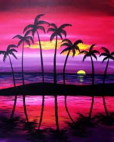 Paint Nite Purple Serenity At Trailside Bar And Grill Paint Nite Events