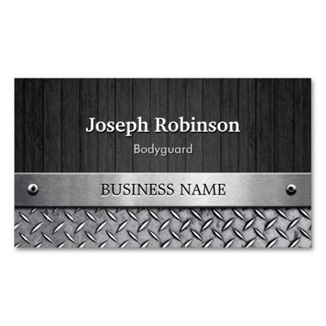 bodyguard business card templates 17 best images about bodyguard business cards on
