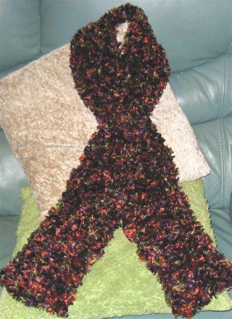 pattern for eyelash yarn scarf crochet with eyelash yarn pattern yarn arts pinterest