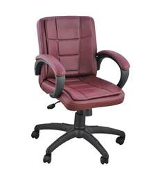 Office Chair Cheap India Low Back Office Chair In Brown Buy At Best Price