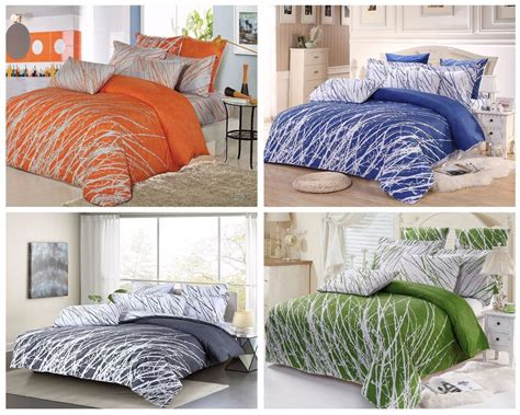 comforters with trees on them trees 100 cotton duvet cover set sheets pillow shams