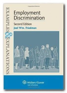 exles explanations employment discrimination 9781454816102 barristerbooks the