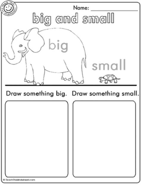 Big Worksheet